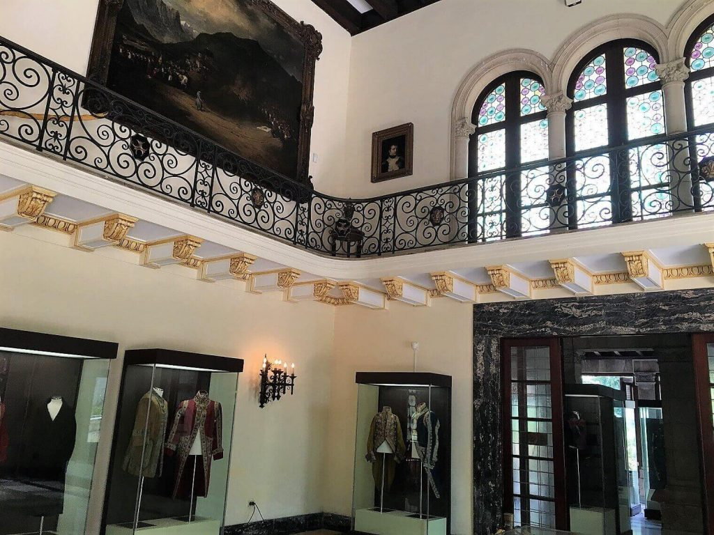 Interior of Napoleonic Museum in Havana