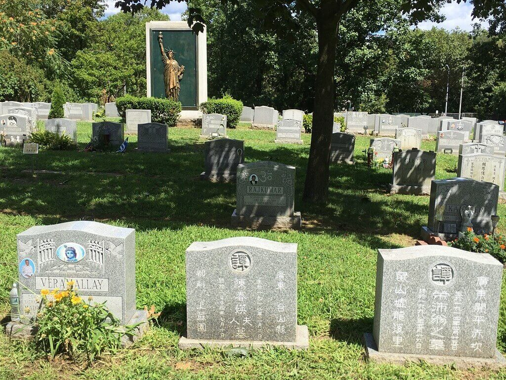 Queens Cemetery in the United States