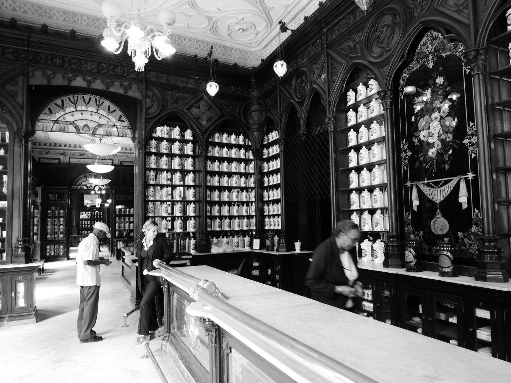 Interior of Taquechel Pharmacy Museum - Museums of Havana