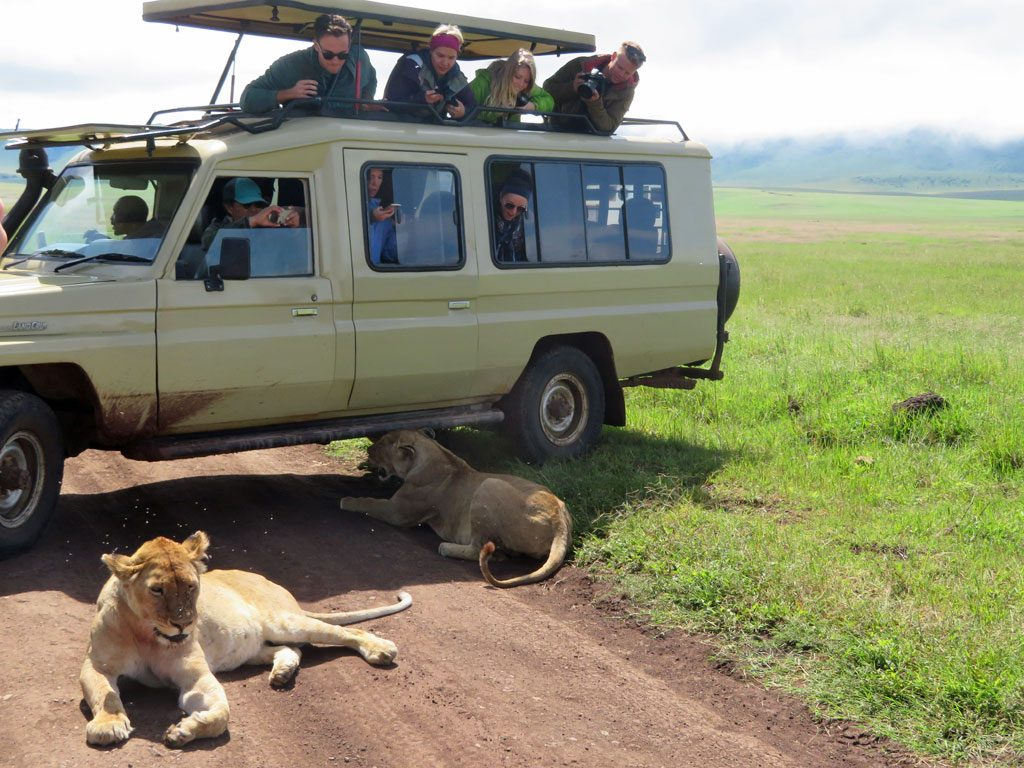 extreme tour in Africa