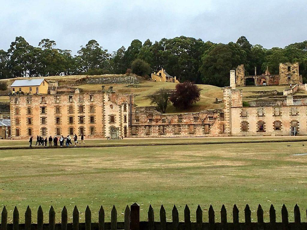 Port Arthur prison in Tasmania, Australia