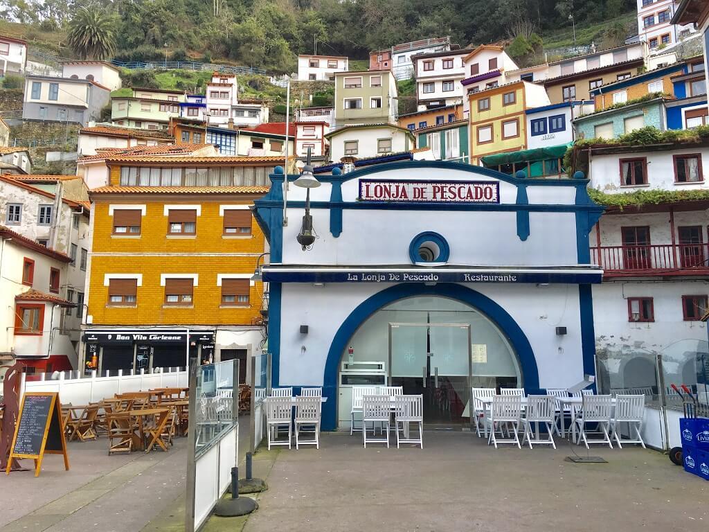 Cudillero fishing village in Spain