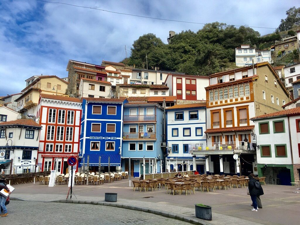 town of Cudillero on the itinerary of Asturias