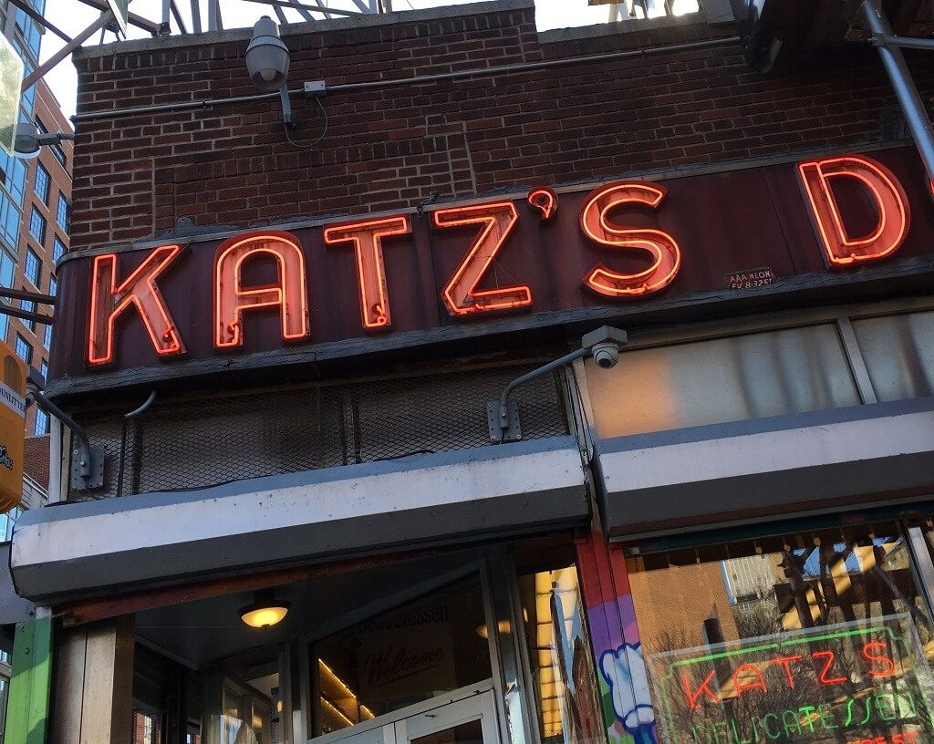 Katz's Deli, one of the best places to eat in NYC
