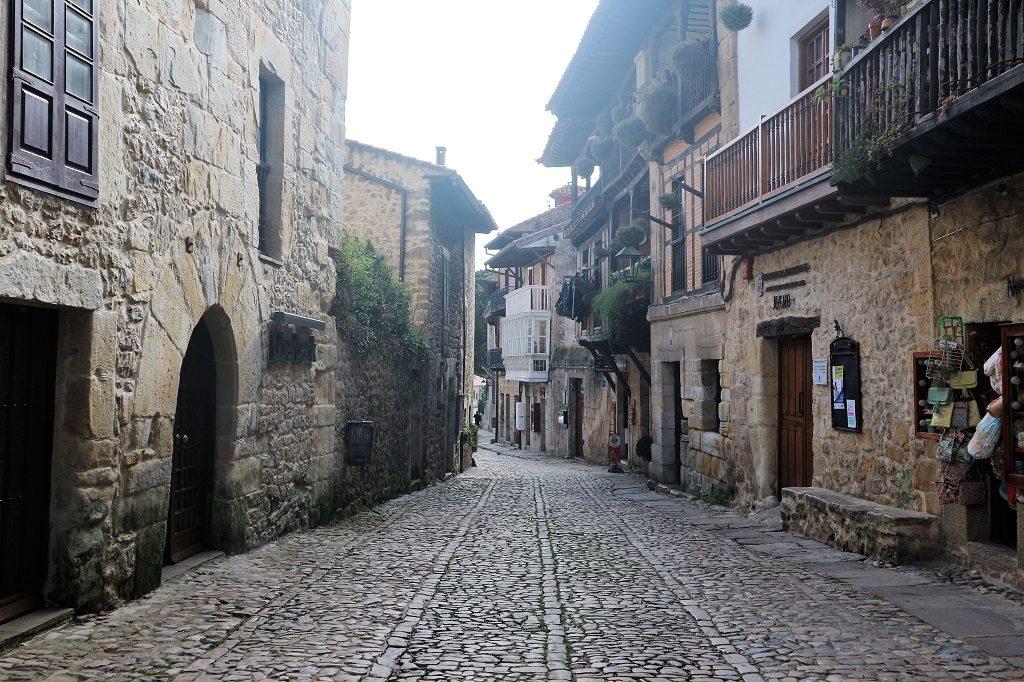 Midieval streets of Santillana del Mar