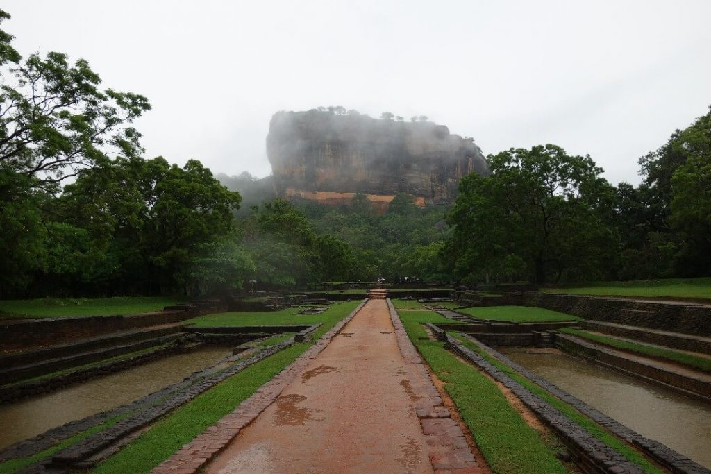 Road in Sigiriya, one of the best p laces to visit in Sri Lanka