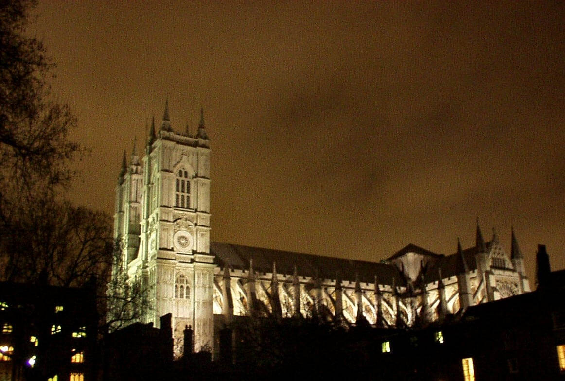 Westminster Abbey at Night - One of the great cathedrals of England