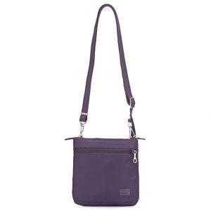 travel essentials - pacsafe bag