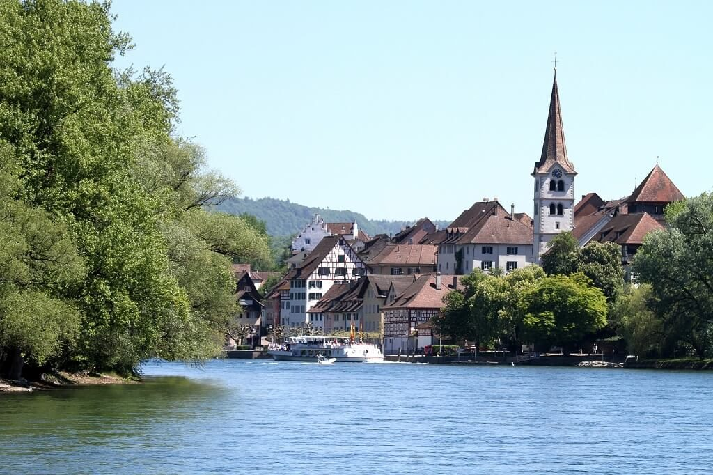Stein-am-rhein in Switzerland