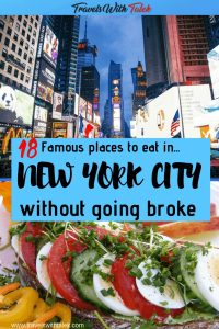 famous places to eat in NYC