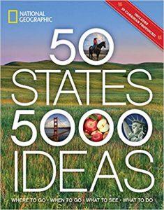 Travel Items for Men - Nat Geo Book