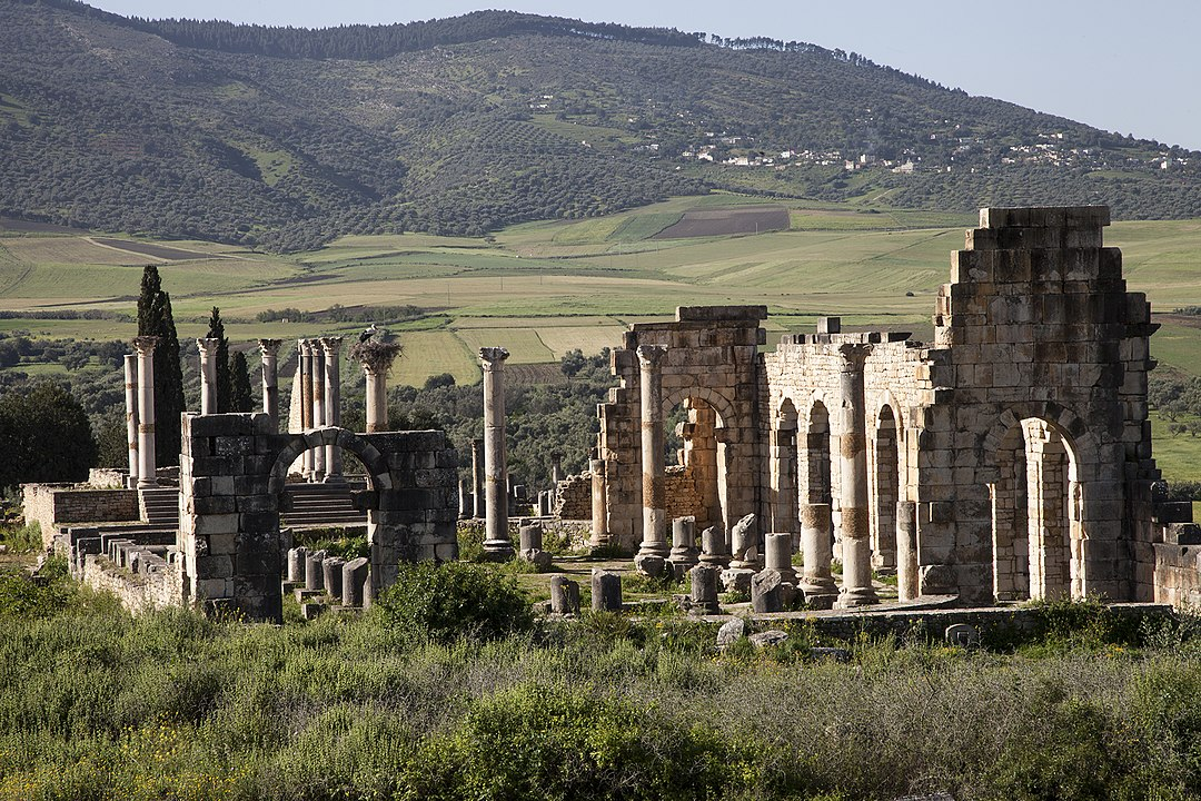Morocco ruins. Describes books to read before traveling to Asia and Africa