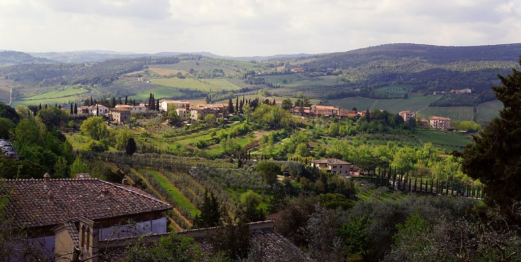 Tuscany. An image for best books to read when you travel through Europe