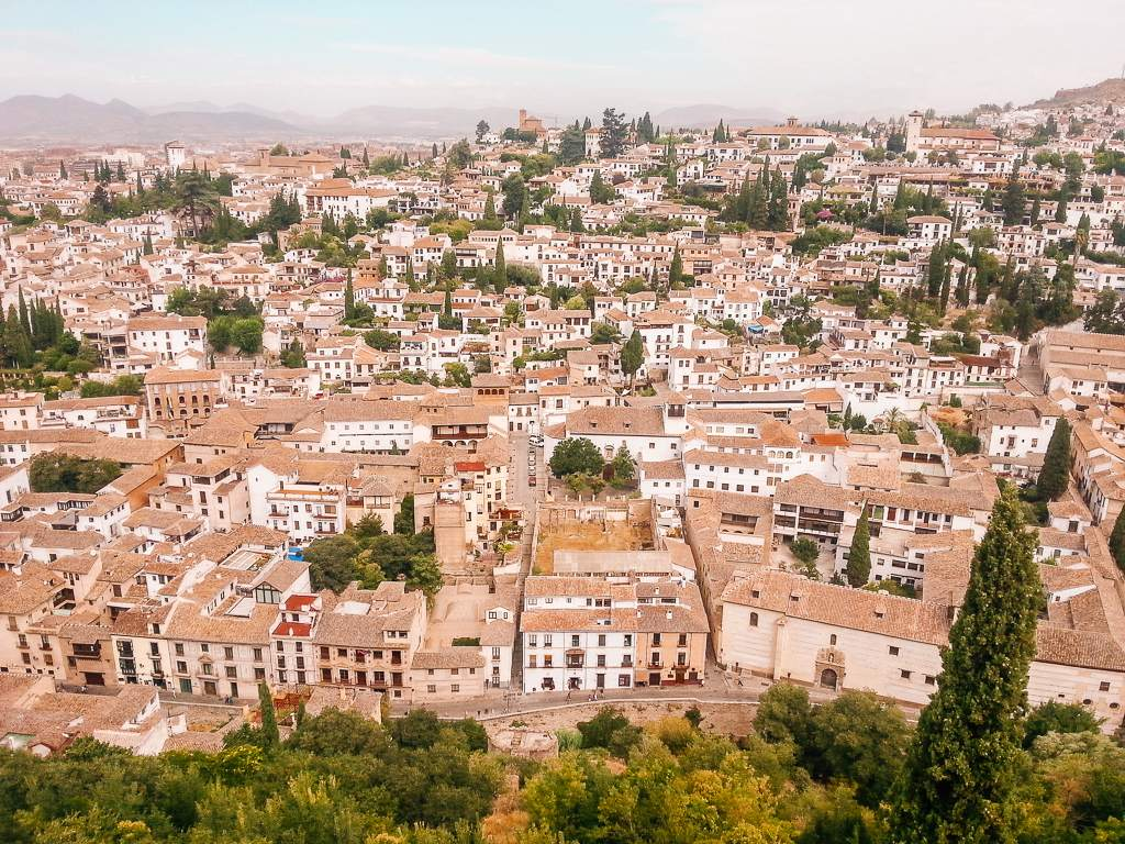 Granada, Spain. Image of best books to read as you travel through Europe.