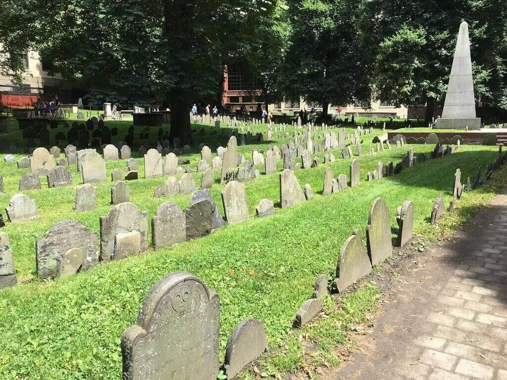 Granary Burial Ground in Boston, United States cementeries