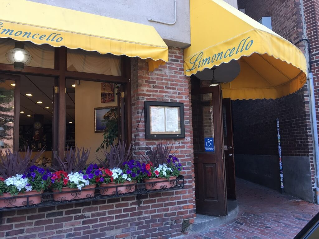 Limoncello at Boston's Little Italy is fantastic!