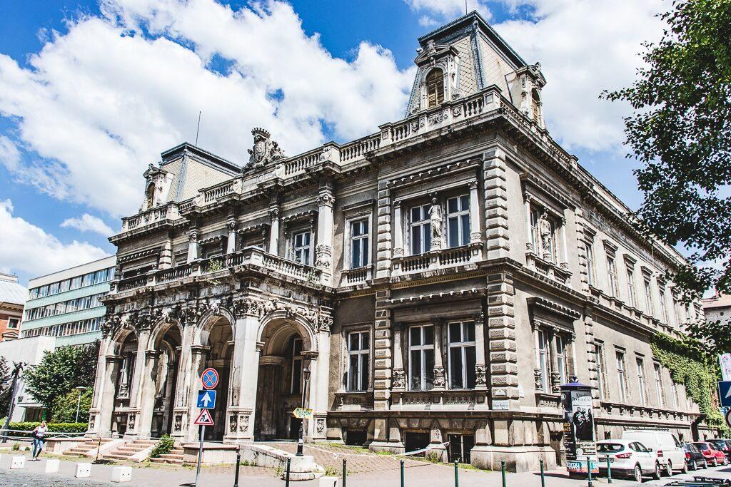 Royal Palace Quarter facade Budapest