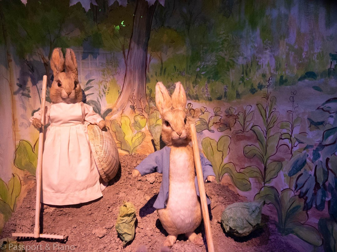 Peter Rabbit Exhibit in Brockhole, UK