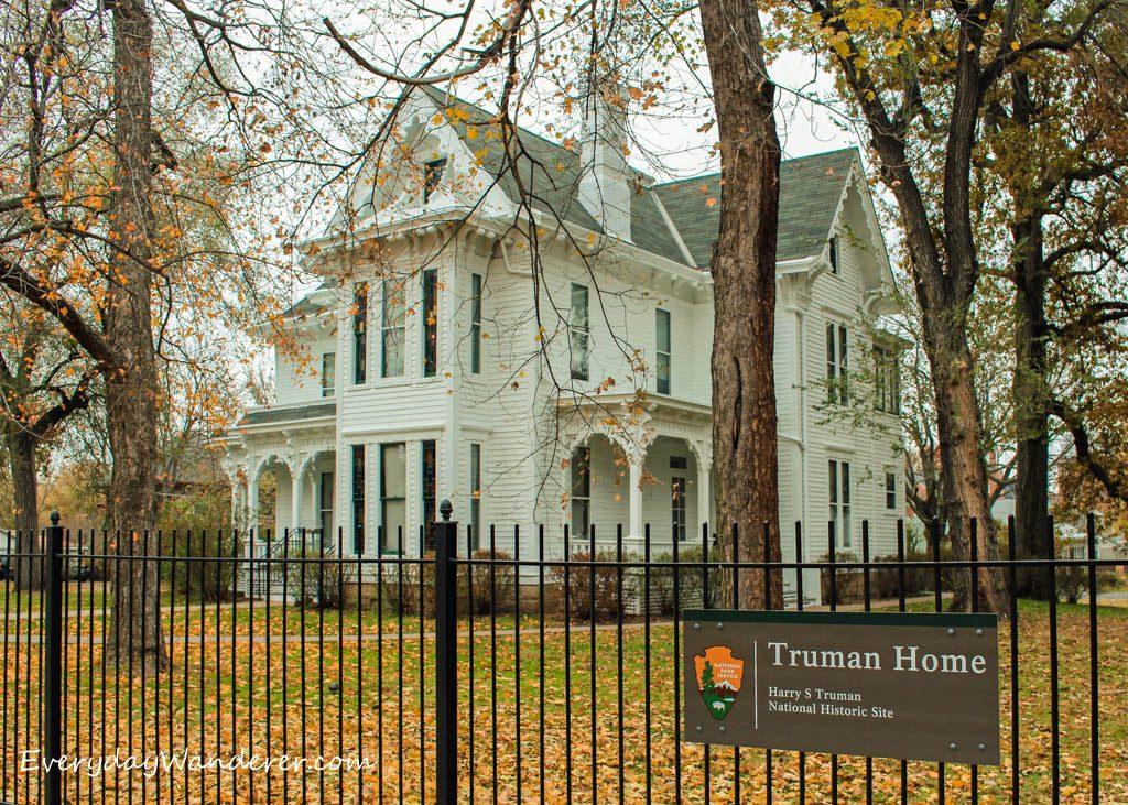 Truman House Exterior -