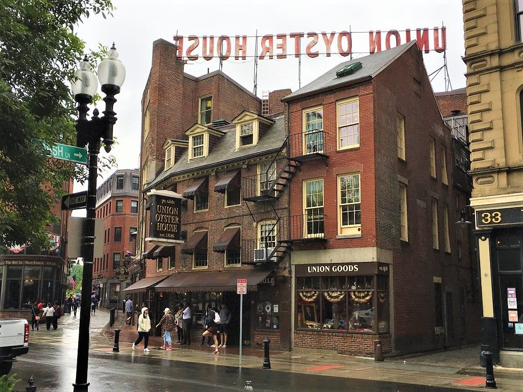 Boston's historican Union Oyster House in Boston 2-day itinerary