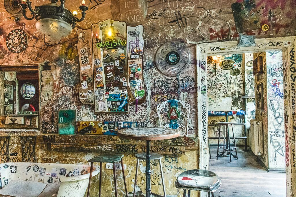 Szimpla Ruin bar is a must visit in Budapest