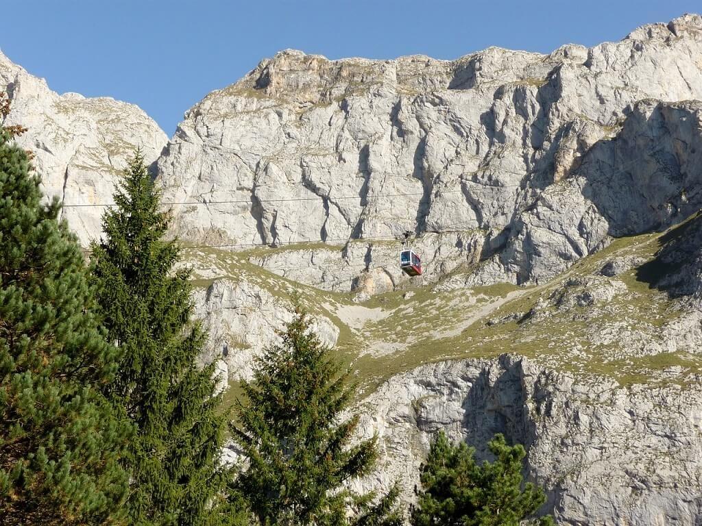 Picos de Europa national park view