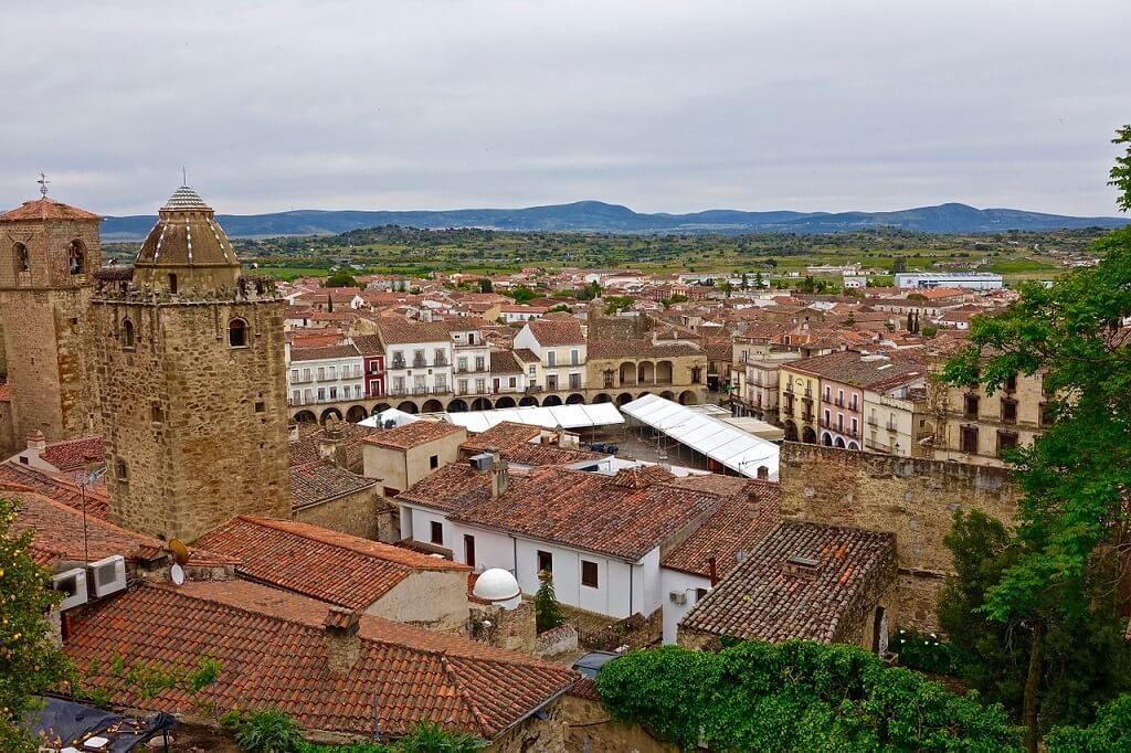 View of Trujillo, Spain