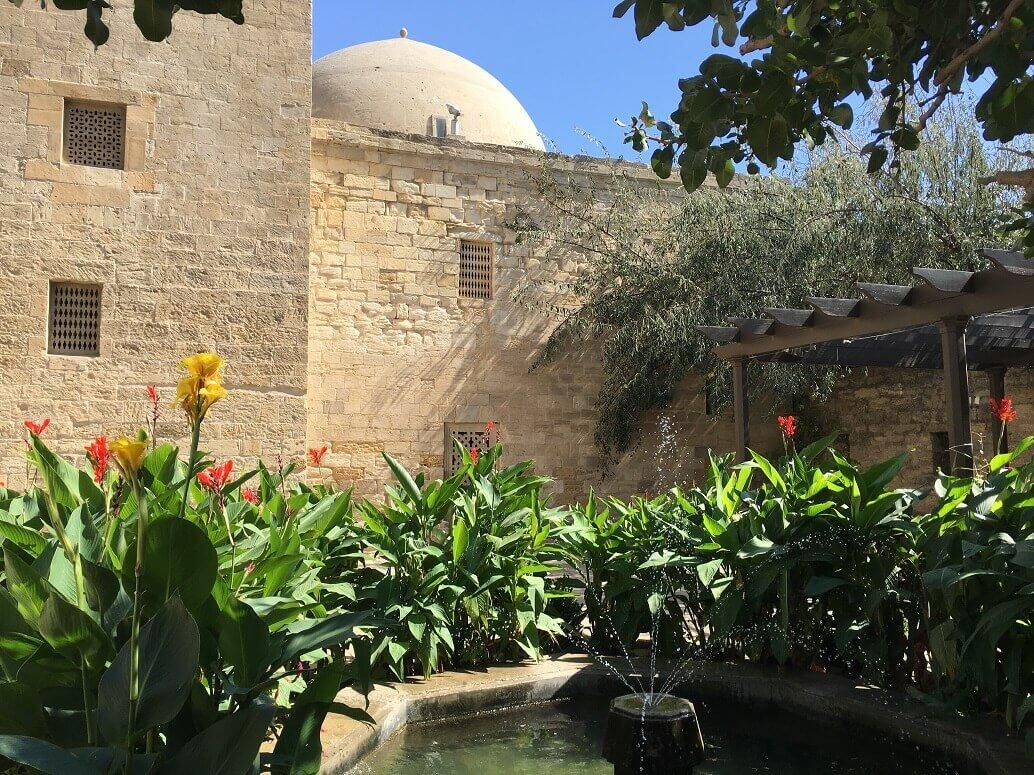 In a Muslim garden