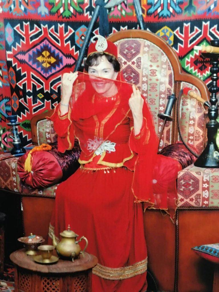 Talek in Azerbaijani costume.