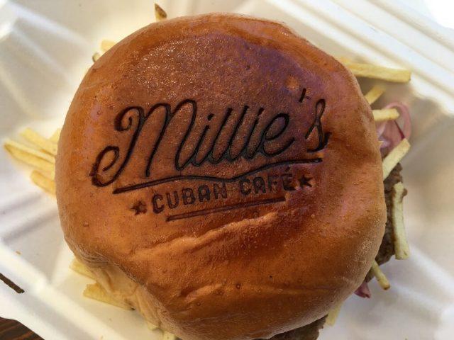 A Cuban Frita in Millie's Cuban Cafe
