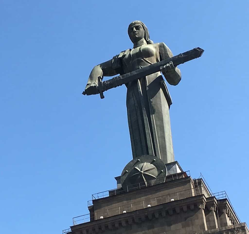 Mother Armenia in Yerevan
