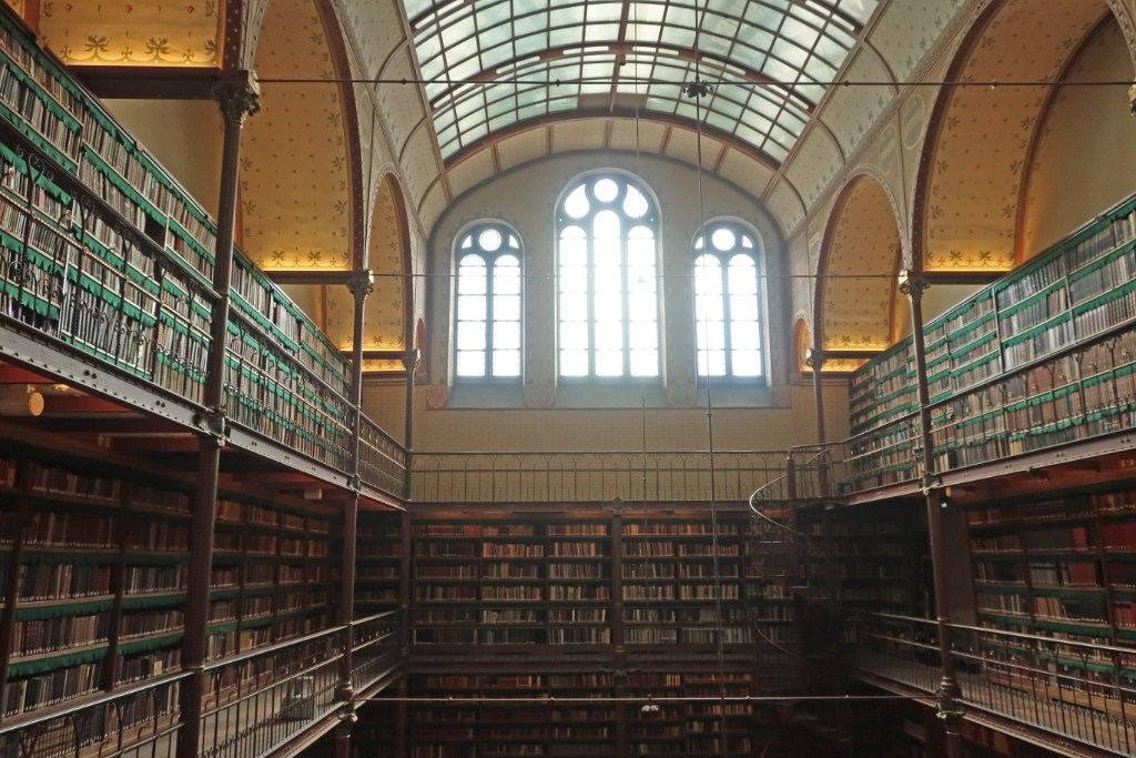 Interior of the Cuypers Library at Rijksmuseum