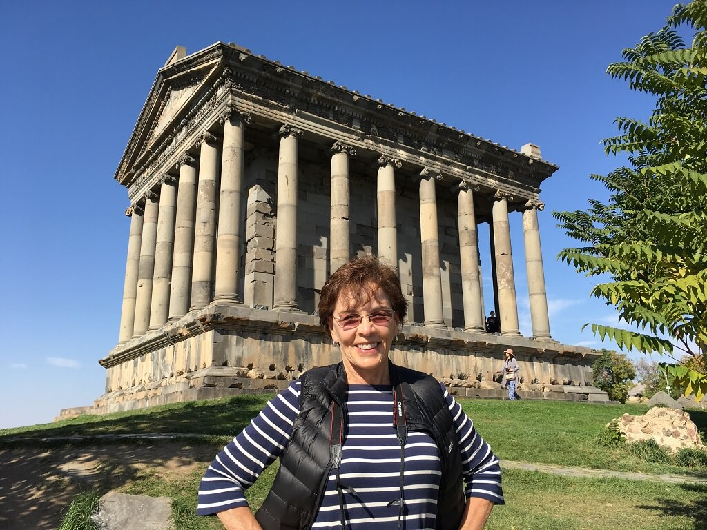 Garni temple, one of the best places to visit in Armenia