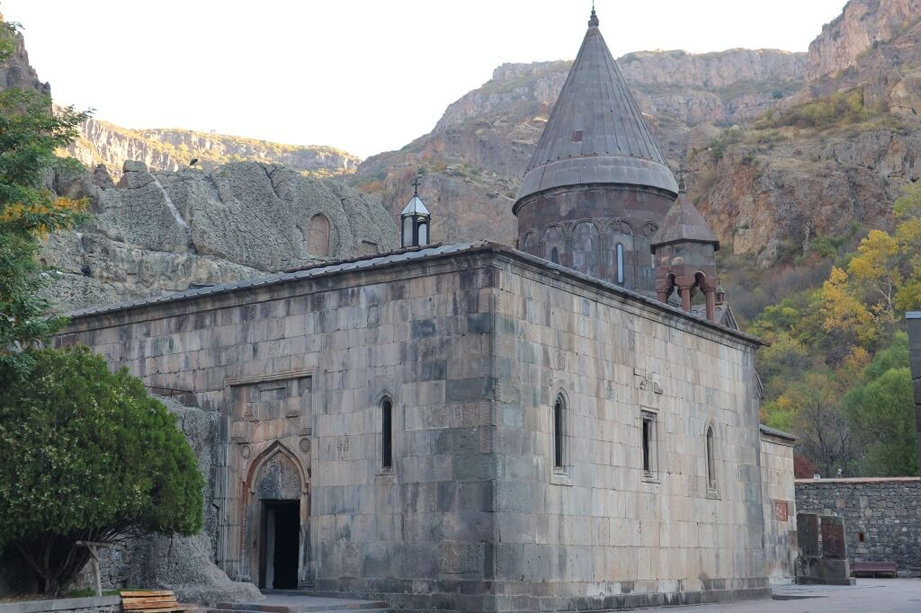 Geghard Monastery, one of the best places to visit in Armenia