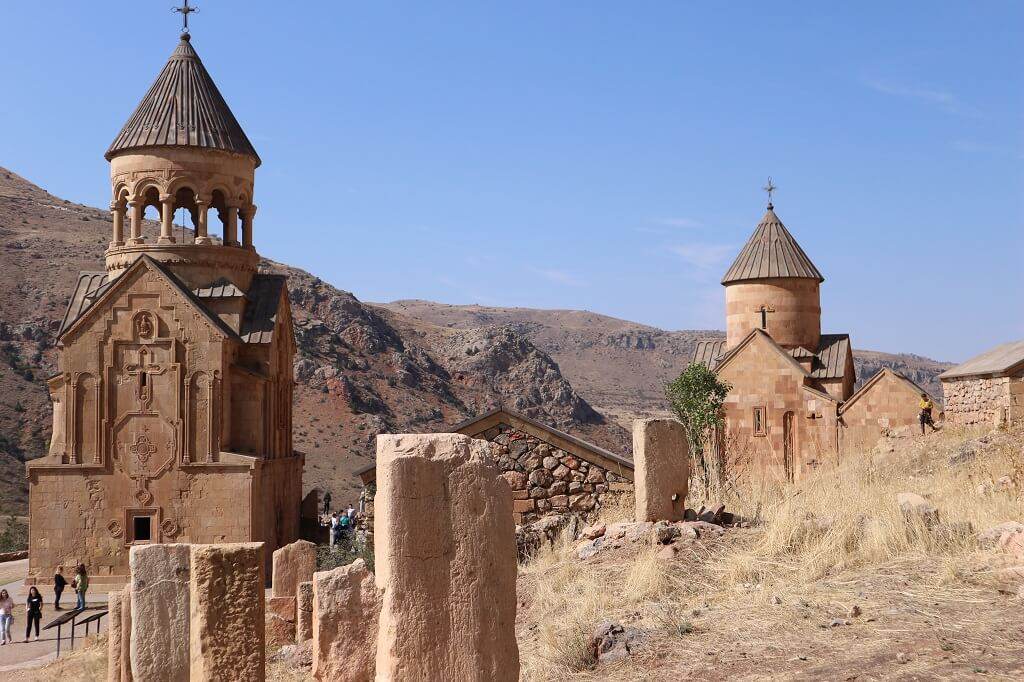 Novarank Monastery, one of the most interesting places to visit in Armenia.
