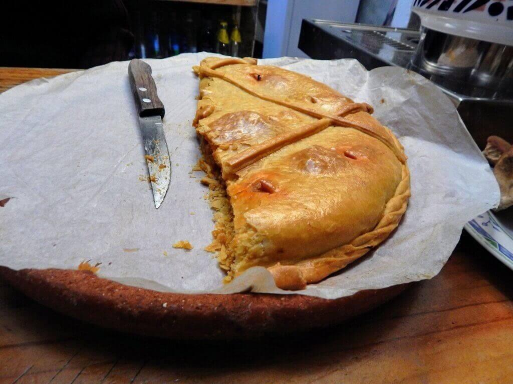 Galician meat pie