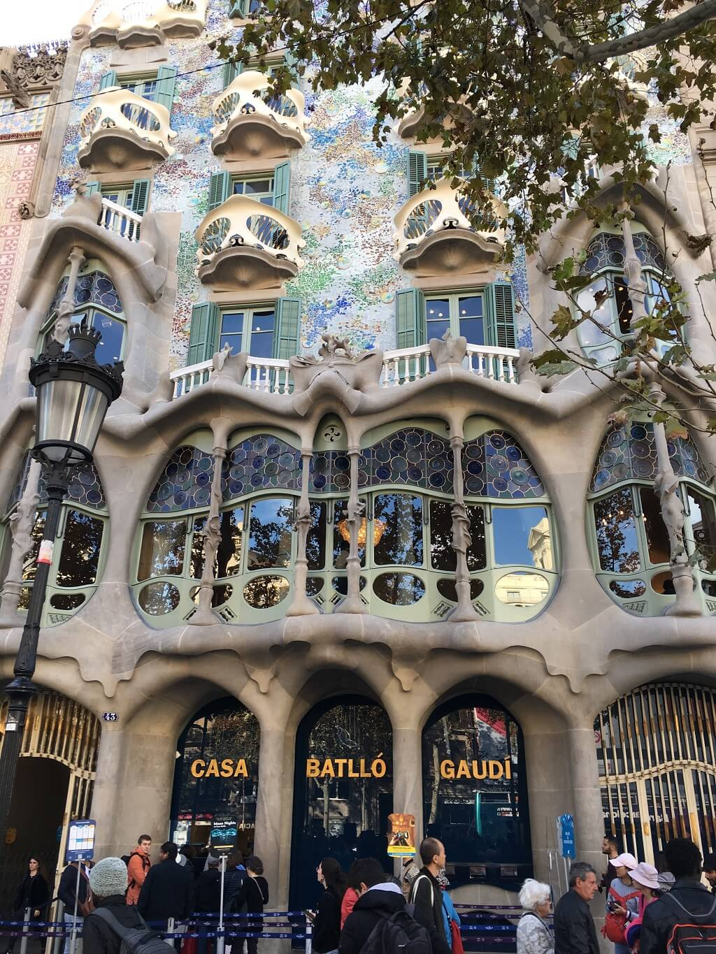 Casa Batllo is a must see on your two days in Barcelona