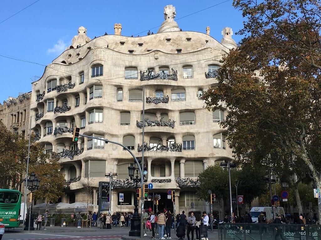 Casa Milo by Gaudi La Pedrera