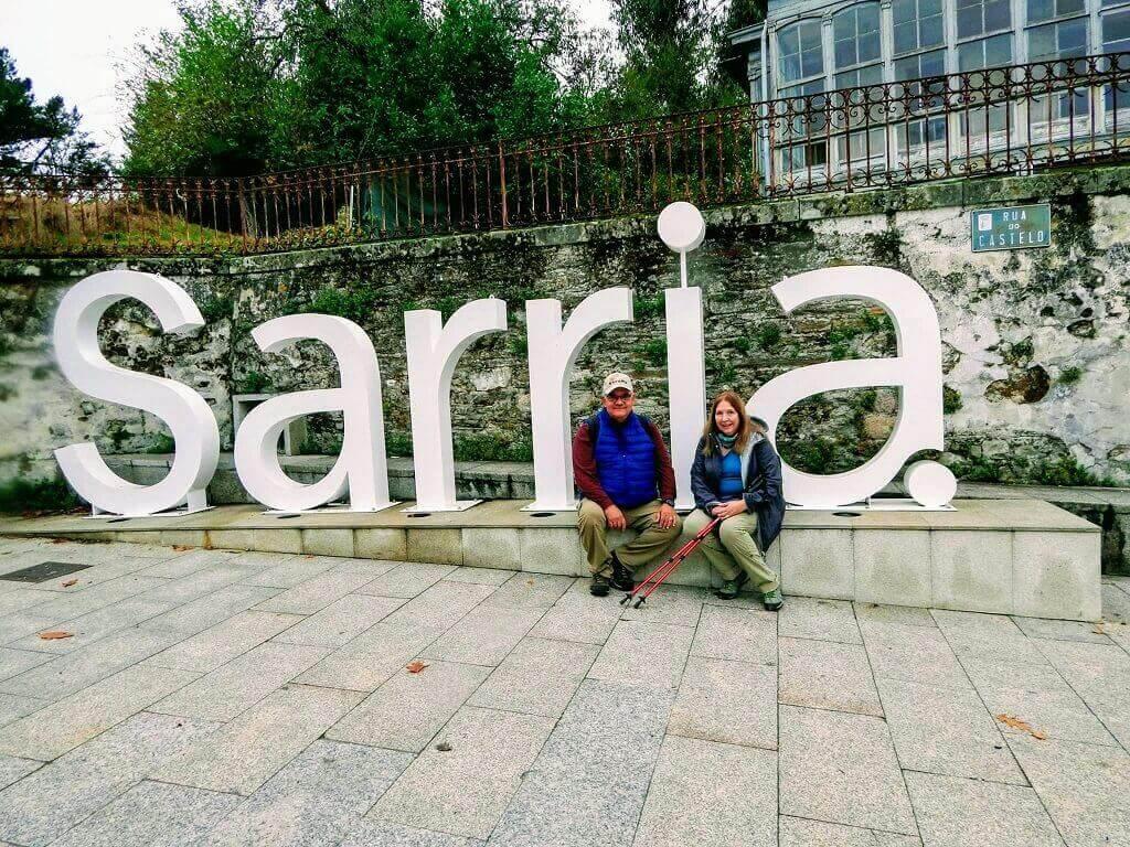 Sarria starting point of El Camino de Santiago