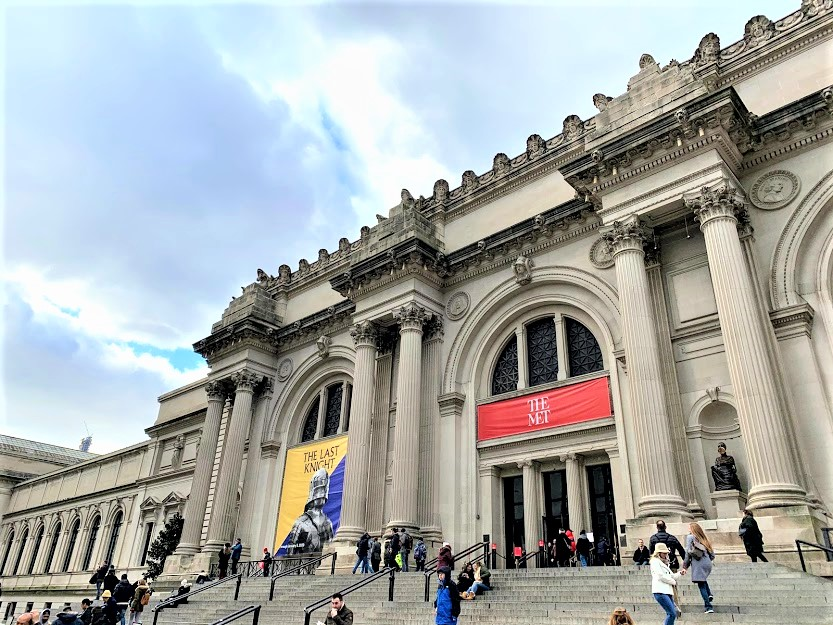The Metropolitan Museum of Art, part of Museum Mile, one of the coolest neighborhoods in Manhattan
