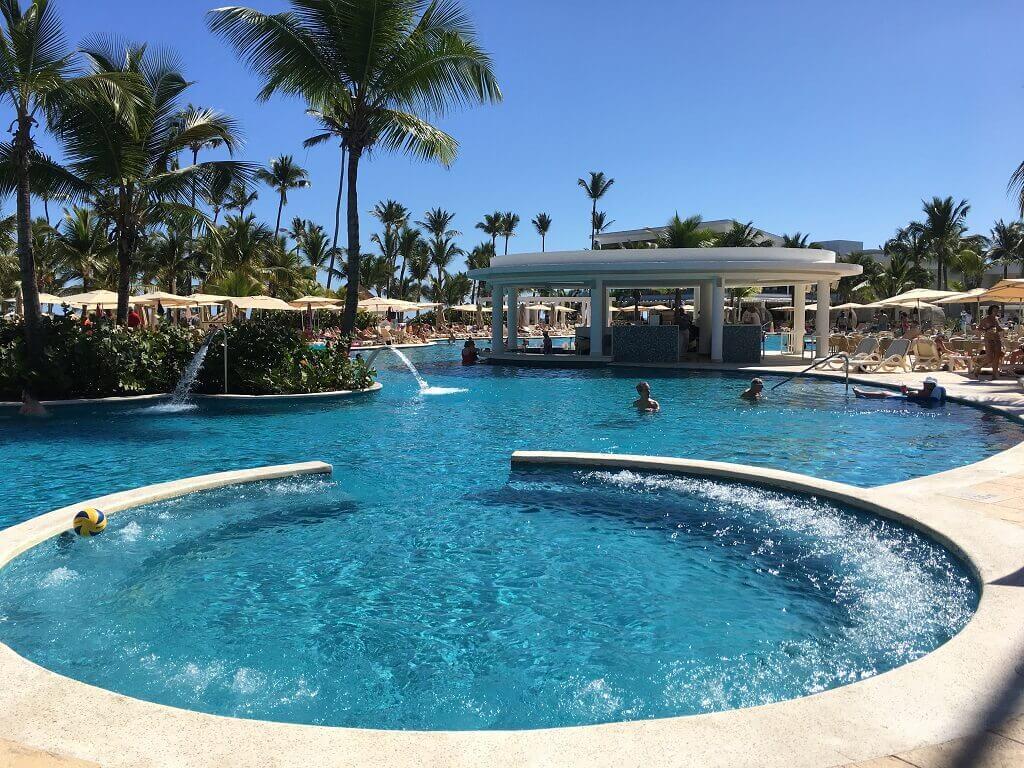 Resort pool at Punta Cana
