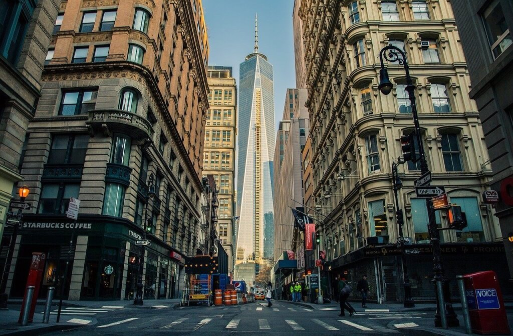 One Work Trade Center in New York City