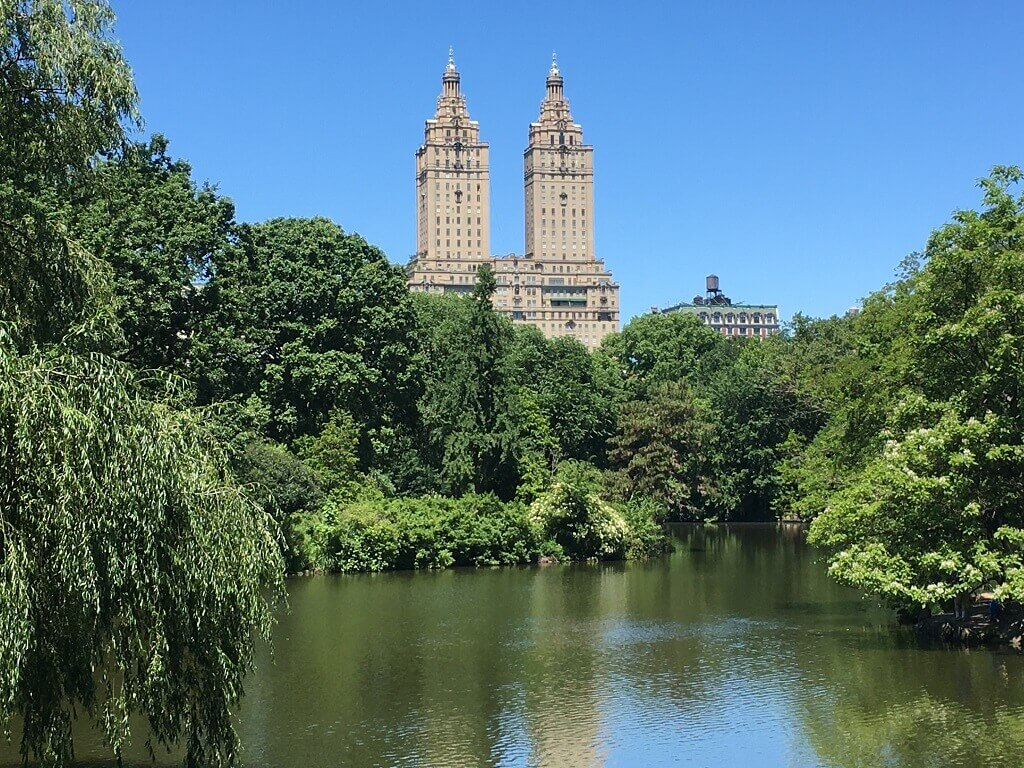 Central Park view to the West Side