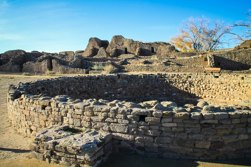 Aztec ruins site an off the beaten track travel destination