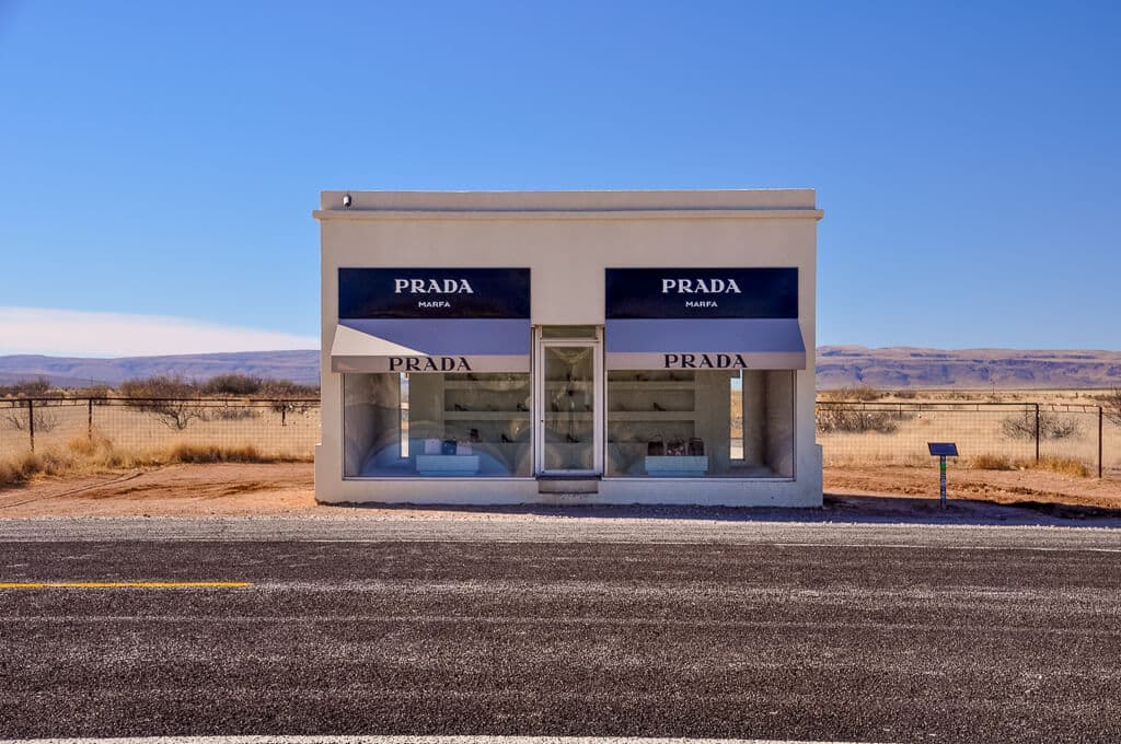Marfa in Texas