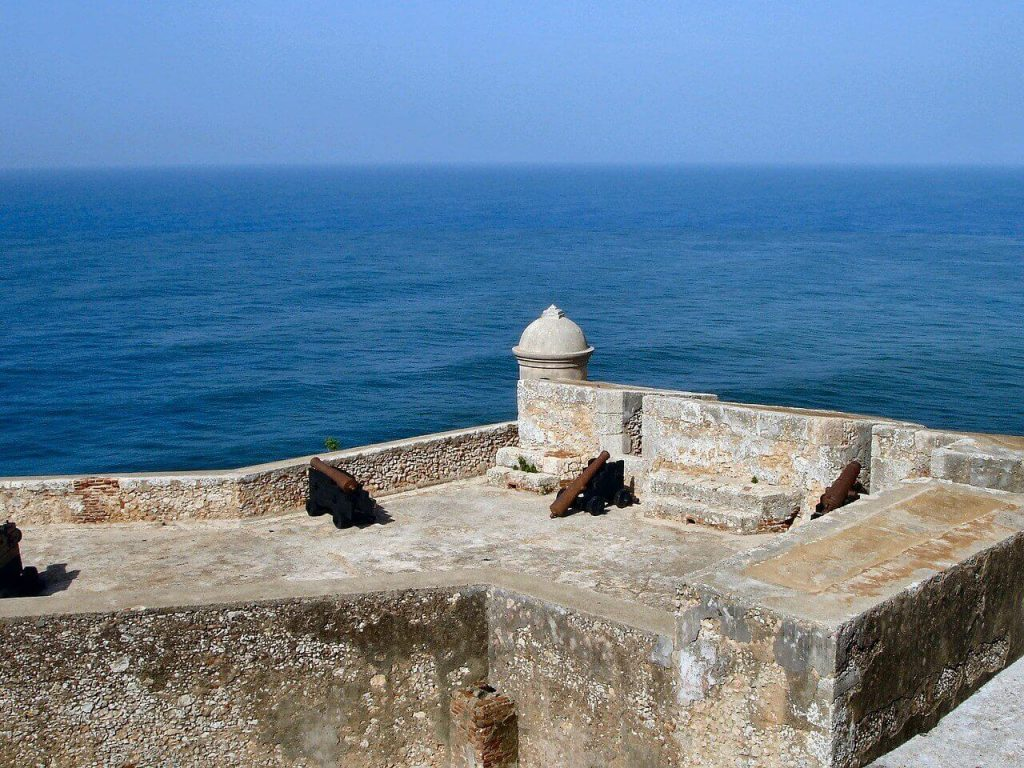San Pedro de la Roca castle, a Cuba UNESCO World Heritage site