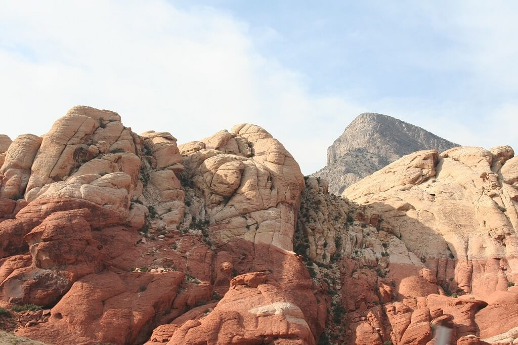 Red Rock Canyon an off the beaten track travel destination in the U.S.