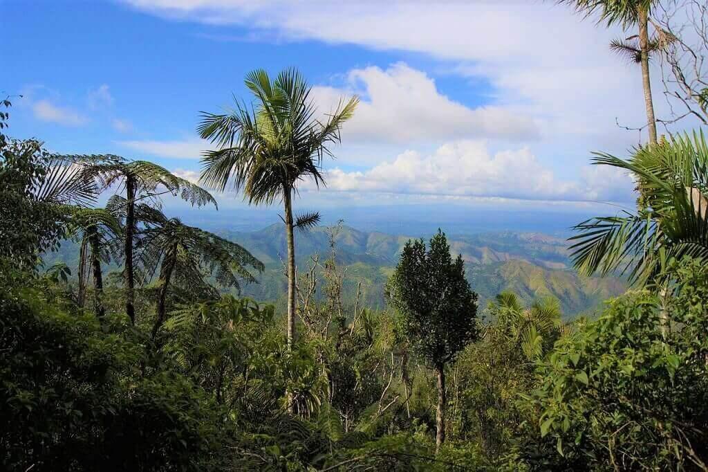 Landscape of Desembarco del Granma National Park, a Cuba UNESCO World Heritage site