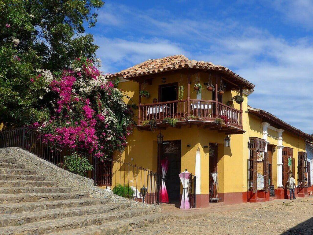 A colonial home in Trinidad