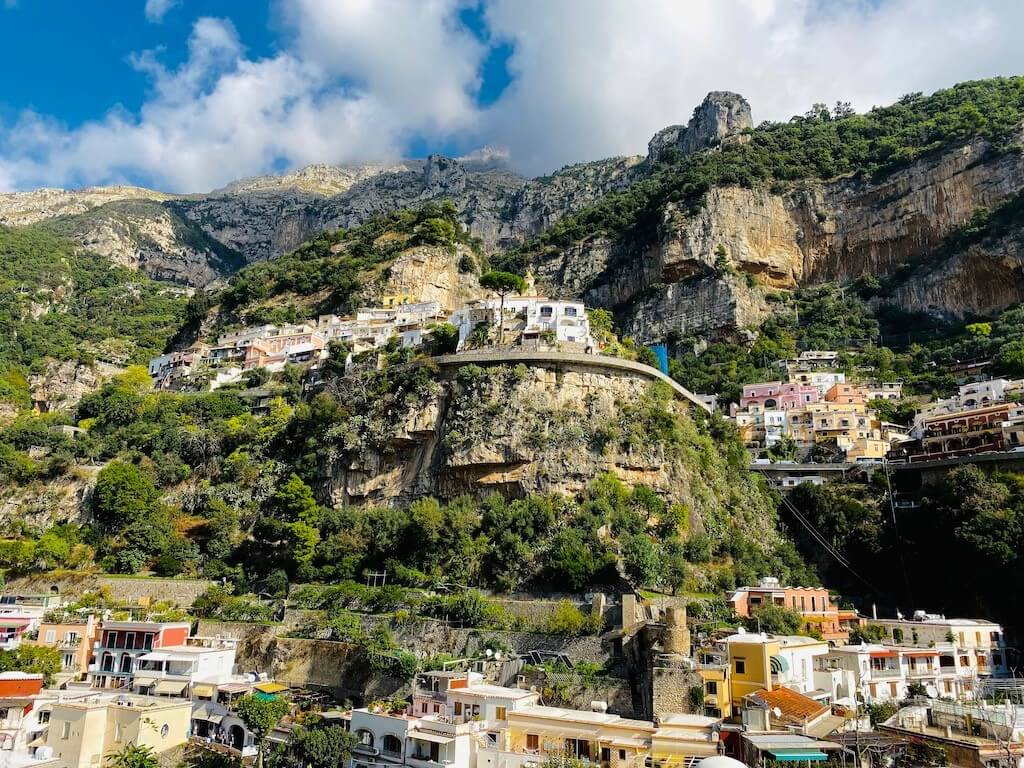 Homes with views on the Amalfi Coast